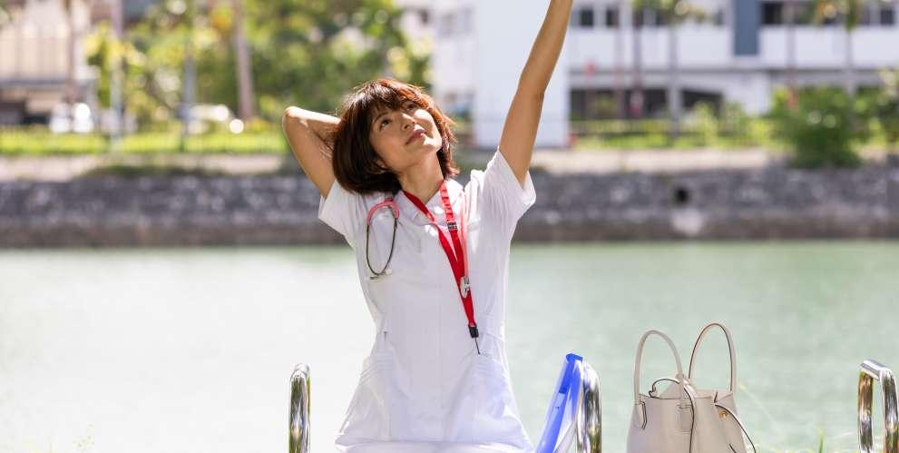 解放的な気持ちの看護師
