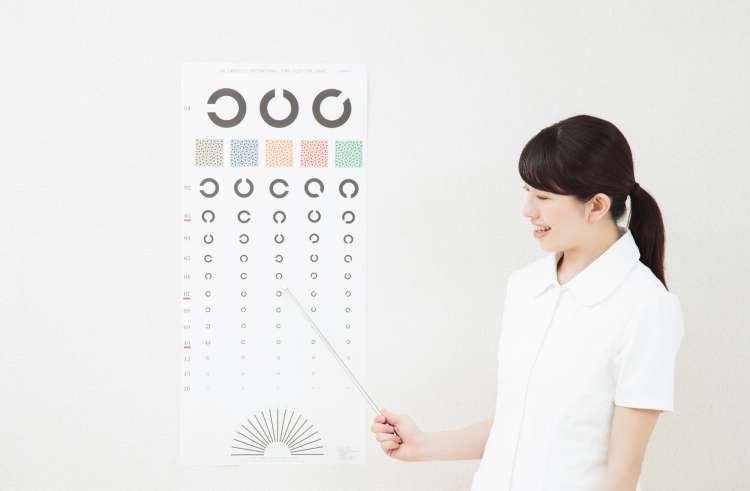 眼科看護師の写真