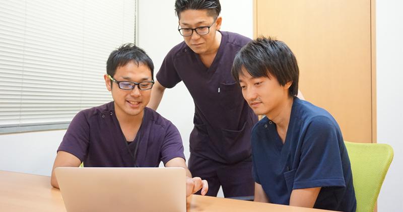 看護師、理学療法士、作業療法士、言語聴覚士、関係なく評価・ポジションを用意